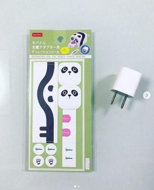 シール アダプター デコレーション 充電 モバイル 用